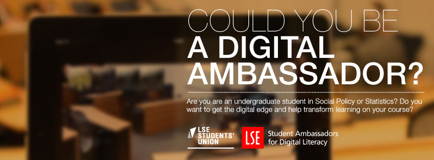 SADL banner: Could be a digital ambassador?