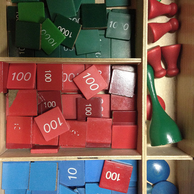Montessori learning tools games counting math by Steven Depolo on Flickr
