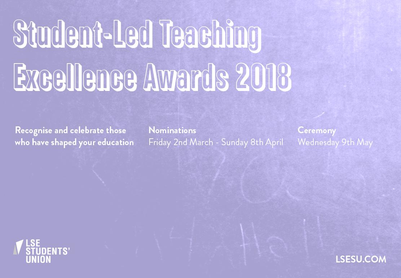 LSESU teaching awards